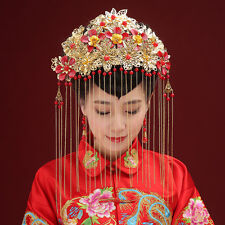 Chinese Style Ancient Hair Accessories Wedding Bridal Hair Pageant Jewelry 2016