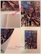 Maurice Utrillo Vintage Print Street Scene Boston Museum of Fine Arts