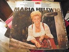 Maria Hellwig - disque polydor n° 2437 481