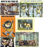 *****6 WHERE THE WILD THINGS ARE****T-SHIRT  ***FABRIC/T-SHIRT IRON ON TRANSFERS