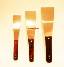 Ink Knife / Spatula Set Used For Printing Press (Assorted Sizes)