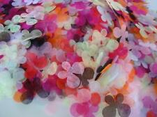 200 Mix Small Tulle Color Organza Butterfly Applique/Tutu/Craft/Trim/Sewing H27