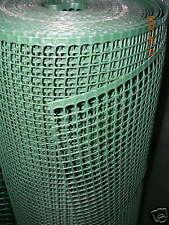 RETE  PLASTICA ALTA 50 cm FORO 9x9 mm A METRATURA X RECINZIONI BALCONI