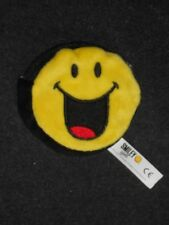 Smiley Geldtasche mit Reißverschluß Ø ca. 9,5 cm