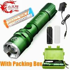 SMALL SUN ZY-R19 Zoomable CREE Q5 LED Rechargeable 18650 Tactical LED Flashlight