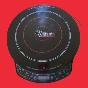 NuWave 2 Precision Induction Cooktop Burner for Home or Camper Clean & Tested