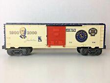 "*LIONEL 6-19991* ""2000 LRRC GOLD MEMBER BOXCAR"""