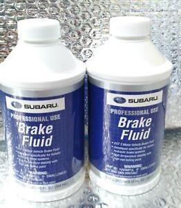 SUBARU Genuine Brake Fluid 12oz ~ Lot of 2