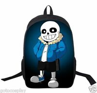 Game Undertale Sans Papyrus Backpack Packsack knapsack Schoolbag Travelbag Bag