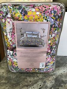New Kate Spade Lilac Floral Dots Twin / Twin XL Comforter Set