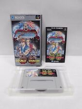 RETURN OF DOUBLE DRAGON -- Boxed. Super famicom, SNES. Japan. Work fully. 12926