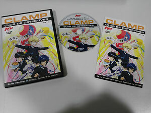 Clamp Club de Detectives Chapters 1-6 Sleeve Series TV DVD Jonu Media