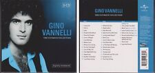 GINO VANNELLI Ultimate Collection 2003 An Anthology 3 CD Set 70s & 80s Rock