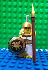 Lego Battle Goddess Minifigures Spear Shield Helmet City Town 71007 Series 12