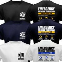 EMT Emergency Medical Technician Service EMS Paramedic CPR First Rescue T-shirt