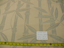 """CALRENCE HOUSE SILVER GREY WHITE """"le BAMBOO"""" TAPESTRY THICK BTY #1541"""