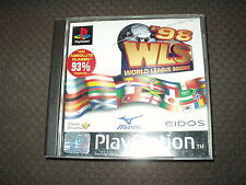 Playstation PS1 WORLD LEAGUE SOCCER 98