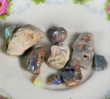 Rough Black Opal Parcel, Australian Opal,Lightning Ridge Opal, Beginner, YesOpal
