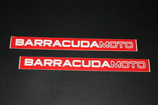 +217 Baracuda Moto Race Zeichen Sticker Aufkleber Decal Autocollant Schriftzug