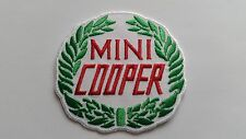 MOTOR RACING CAR SPEED FESTIVAL SEW ON / IRON ON PATCH:- MINI (d) COOPER LAUREL