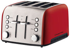 Russell Hobbs RHT54RED Heritage Vogue 4 Slice Toaster
