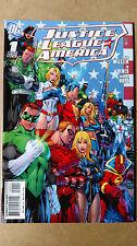 JUSTICE LEAGUE OF AMERICA #1 1ST PRINT DC COMICS (2006) GREEN LANTERN POWER GIRL