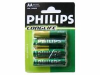 Philips Longlife R06 Mignon AA BP4, 4er Blister Packung