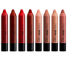 New NYX Simply Red or Nude Lip Cream Crayon Lipstick - BOGO B1G1 Free, Choose!