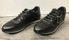 DESTOCKAGE BASKETS / SNEAKERS MARQUE COCO ABRICOT ANTHRACITE T 37 NEUF 109€ N87