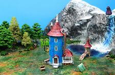 N Scale Moomin House Storybook Building DIY Cardstock Kit