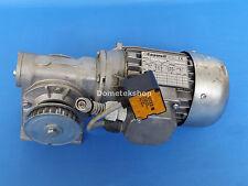 STM RMI 40 S Gear Reducer, 15:1 ratio, w. 3-phase motor 0.25 / 0.3 hp