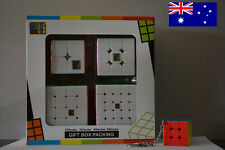 Sydney Stock MoYu stickerless Magic Rubiks cube gift box+Free Keyring 5/5