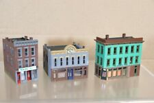 WALTHERS N SCALE AMERICAN 2 3 STORY CITY BANK SANDWICH CHINESE RESTAURANT STORE