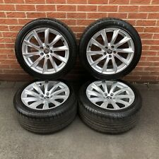 """Genuine Jaguar F Type Sport 18"""" Alloy Wheels And Continental Tyres"""
