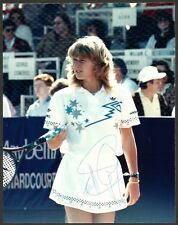 """Steffi Graf signed 6"""" x 8"""" photograph - Tennis"""
