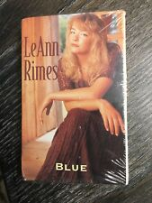Blue [US Single] [Single] by LeAnn Rimes (Cassette, May-1996, Curb)