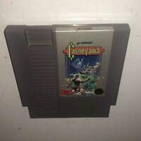 TESTED 5-Screw Round Seal Nintendo NES Game Original CASTLEVANIA Authentic Works