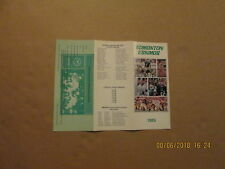 CFL Edmonton Eskimos Vintage Circa 1983 Football Season Ticket Brochure