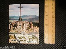 Santa Cruz del Valle de los Caidos Vintage Accorian Book of 20 Photos & Info