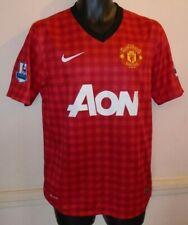 Manchester United Home Football Shirt 2012-2013 SCHOLES 22 small men's #1436