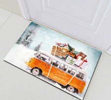 Xmas Gifts Bus Home Bedroom Floor Carpet Memory Foam Mat Rug Bath Mat Doormat
