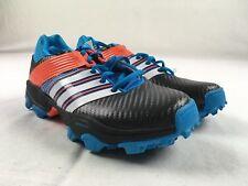NEW adidas adistar Hockey 4M - Blue/Orange Cleats (Men's 5.5)