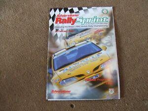 Silverstone Rallysprint February 1998 RAC British Rally Championship Programme