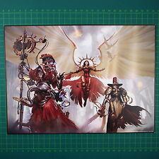 Triumvirates of The Imperium Art Print A4 Warhmmer 40k