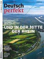 Deutsch perfekt, Heft Mai 5/2017: und in der Mitte der Rhein  +++ wie neu +++