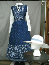 Victorian Dress Women's Edwardian Costume Civil War Reenactment West Prairie