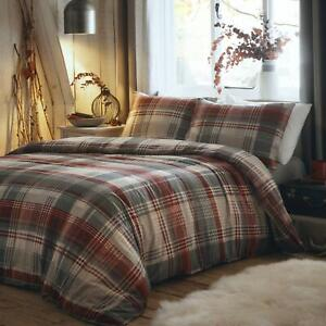 Connolly Check Red Duvet Set