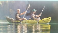 *IN STOCK* Intex Explorer K2 Kayak 2 Person Inflatable Canoe with Pump & Oar