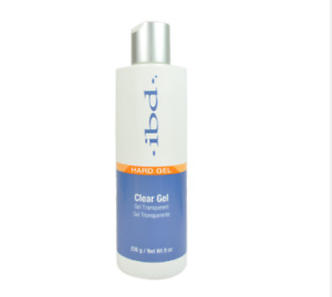 IBD Hard Gel LED/UV Clear Gel 8oz/226g for Tips & Overlays LED and UV Curable