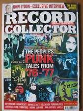 Record Collector December 2016 John Lydon People's Punk Guy Stevens Japan Jazz
